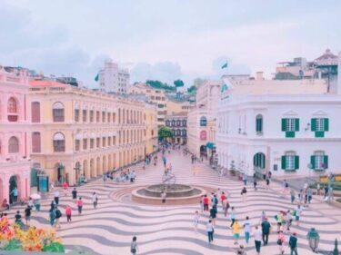 【マカオ世界遺産】セナド広場は見どころ満載!観光の中心スポット