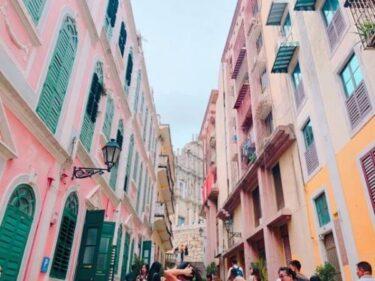 【マカオ世界遺産】恋愛巷はピンク色が可愛い人気撮影スポット