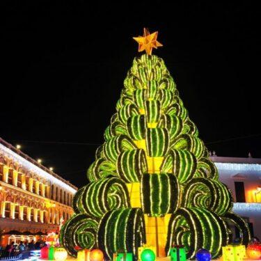 【マカオのクリスマス2020】世界遺産セナド広場のライトアップ