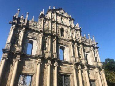 マカオ世界遺産聖ポール天主堂と日本人の謎